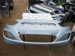 Бампер передний Hyundai Solaris (09.2010 - 05.2014) №0076