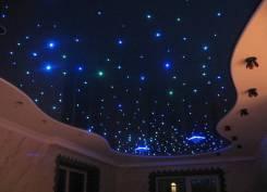 Монтаж нат. потолка, от 400 рублей, Гарантия, качество, надежность