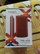 teXet TM-404. Новый, Красный, Dual-SIM, Кнопочный