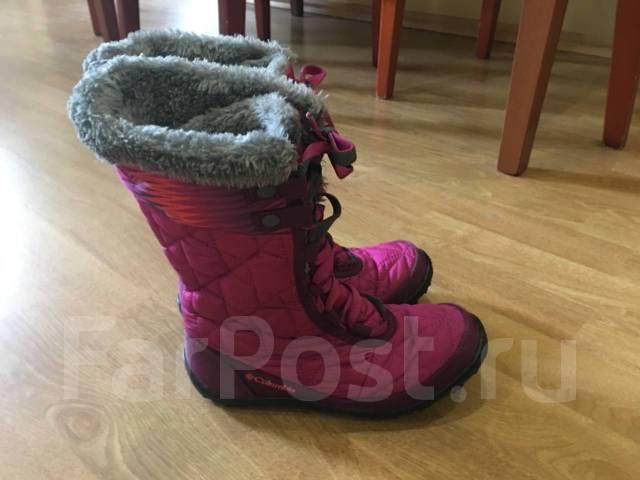 Продам зимние детские сапоги Columbia - Детская обувь в Находке 7bf88474e0d