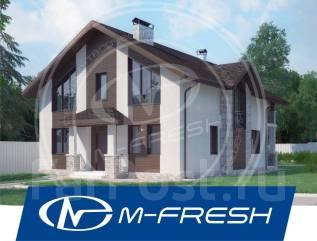 M-fresh Champion! /Посмотрите этот проект современного дома с террасой. 200-300 кв. м., 2 этажа, 6 комнат, бетон