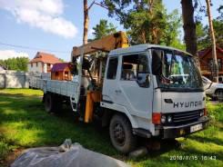Hyundai Mega Truck. Самогруз Hyundai Mega Track, 7 545куб. см., 6 000кг.