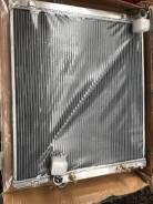 Радиатор охлаждения двигателя. Lexus GX470 Двигатель 2UZFE