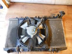 Радиатор охлаждения двигателя. Nissan: Wingroad, Sunny California, Sentra, 200SX, NX-Coupe, Pulsar, AD, Sunny Двигатели: GA15DS, GA16DE, E10S, GA14DS...