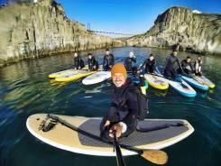 Лагерь Swell. Уроки серфинга, каяк и SUP прогулки, отдых в палатках