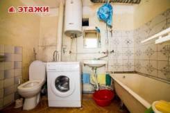 1-комнатная, улица Новожилова 37. Борисенко, агентство, 40кв.м. Сан. узел