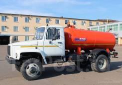 ГАЗ 3309. Вакуумная машина (ассенизатор) Газ 3309, 4 400куб. см.