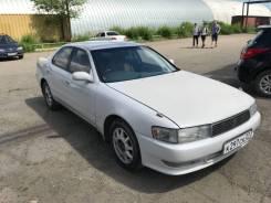 Toyota Cresta. Без водителя