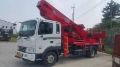 Horyong Sky. Продаётся автовышка марки Хорёнг 36 м. на базе Хундай HD120, 7 500куб. см., 35м.