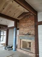 Внутренняя отделка деревянных домов из клееного бруса и Фахверк