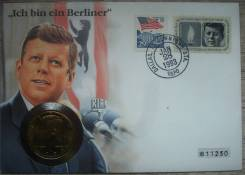Пол доллара 1985 год, Президент Джон Ф. Кеннеди, Западный Берлин