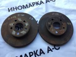 Диск тормозной. Toyota Celica, AT180, ST182, ST183, ST183C, ST184 Toyota Carina ED, ST182, ST183 Toyota Corona Exiv, ST182, ST183 Двигатели: 3SFE, 3SG...