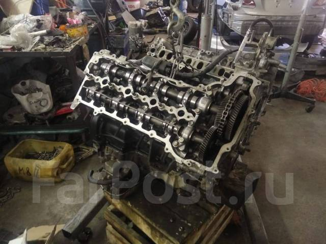Двигатель в сборе. Toyota Land Cruiser, VDJ200, UZJ200W, J200, URJ202, URJ202W, GRJ200, URJ200, UZJ200 Двигатели: 1VDFTV, 2UZFE, 3URFE, 1URFE, 1GRFE....