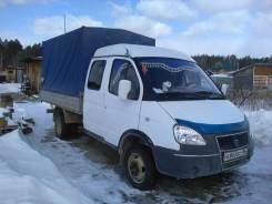 ГАЗ 330232. Продам газель-фермер, 2 400куб. см., 1 500кг.