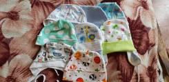 Одежда для новорожденных. Рост: 50-56, 56-62, 62-68, 68-74 см
