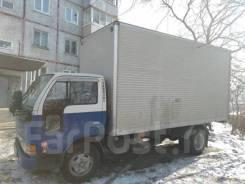 Грузоперевозки по городу и за пределы. Фургон 15,7м/куб. (2т).