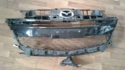 Решетка радиатора. Mazda Axela, BL3FW, BL5FP, BL5FW, BLEAP, BLEAW, BLEFP, BLEFW, BLFFP, BLFFW, BM2AP, BM5FS, BM2AS, BM5FP, BMLFP, BYEFP, BM2FP, BMEFS...