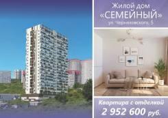 1-комнатная, улица Черняховского 5 стр. 1. 64, 71 микрорайоны, застройщик, 39кв.м.