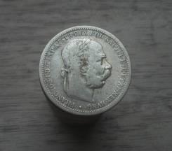 Австро-Венгрия, 1 крона 1894 год, Император Франц-Иосиф, серебро