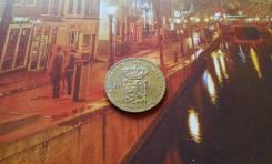 Нидерланды. Копия золотых дорогих 10 гульденов 1897 г. Королева Вильге