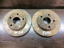 Диск тормозной. Toyota Vista, SV30, SV32 Toyota Camry, SV30, SV32 Двигатели: 3SFE, 4SFE