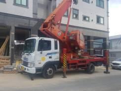Hyundai. Автовышка 40 метров, 8 000куб. см., 40м. Под заказ