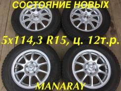 "Manaray Sport Deplex. 6.0x15"", 5x114.30, ET52, ЦО 79,0мм."