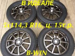 "Big Way B-Win. 6.5x16"", 5x114.30, ET35, ЦО 78,3 мм."