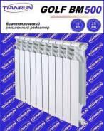 Радиатор GOLF BM 500/8 биметалл, шт.