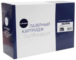 Картридж (N-CE255A) для HP LJ P3015, 6k (NetProduct)