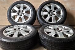 """Pirelli P4 Four Seasons 205/55R16 + Литьё Toyota 5x114.3. 6.5x16"""" 5x114.30 ET50 ЦО 56,1мм."""