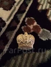 Царская корона с погон царской армии риа до 1917 года. Оригинал