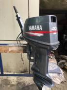 Yamaha. 40,00л.с., 2-тактный, бензиновый, нога L (508 мм), 2006 год год