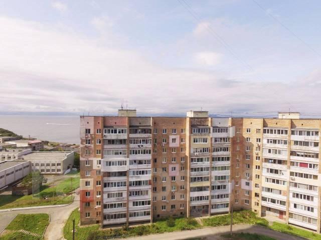 1-комнатная, улица Леонова 70. Эгершельд, застройщик, 34кв.м. Вид из окна днём