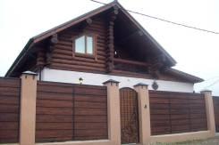 Дом, баня, забор, садовая мебель