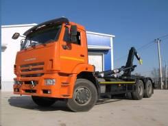 Автосистемы АС-20Д. Мультилифт АС-20Д на шасси Камаз 6520-3072-53 Евро-5(нав. Hyvalift)