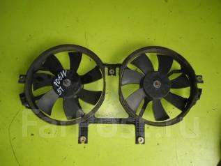 Вентилятор радиатора кондиционера. Mitsubishi Delica, PD6W Двигатель 6G72