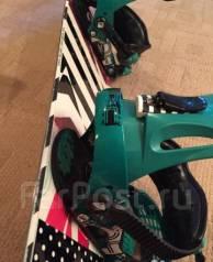 Комплект Ride сноуборд, крепления, ботинки + бонус. 138,00см., all-mountain (универсальный)