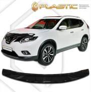 Дефлектор капота Nissan X-Trail (Черный) 2014–н. в. 32