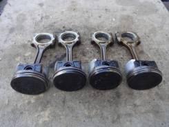 Поршень. Honda: FR-V, Edix, Stream, Civic, Civic Ferio Двигатели: D17A2, K20A9, N22A1, R18A1, D17A, K20A1, 4EE2, D14Z5, D14Z6, D15Y2, D15Y3, D15Y4, D1...