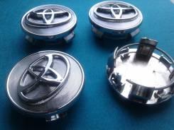 "Колпачки на Toyota! DIA 62 mm. В наличии!. Диаметр 17"""", 1шт"