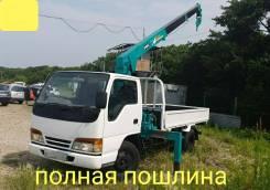 Isuzu Elf. 4,6л., эвакуатор 4 тонны, 4 600куб. см., 4 000кг.
