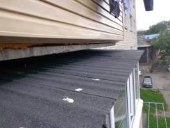 Ремонт балконов. внешней и внутренней отделки, ремонт-шумоизоляция крыш.