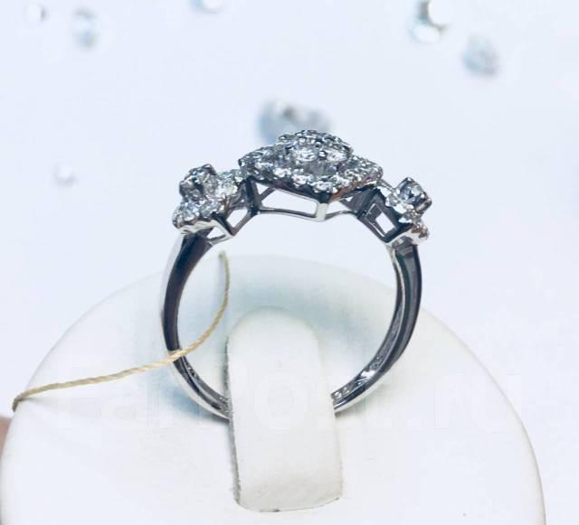 0f8924ecb978 Золотой комплект серьги кольцо (750 пр) 6,5 гр. с бриллиантами 1,9 ...