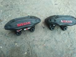 Суппорт тормозной. Nissan Skyline, R33 Nissan Silvia, S15, PS13, CS14, KS13, S14, KPS13, S13 Двигатели: RB26DETT, SR20DE, SR20DET, CA18DE, CA18DET
