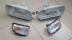 Фара передняя Toyota Sprinter /Carib 87-91