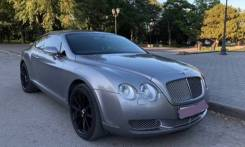 Bentley Continental GT. автомат, 4wd, 6.0 (560 л.с.), бензин, 48 тыс. км. Под заказ