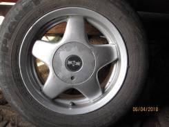 """Продам литые диски универсальная сверловка на летней резине 14. 6.0x14"""" ET35"""