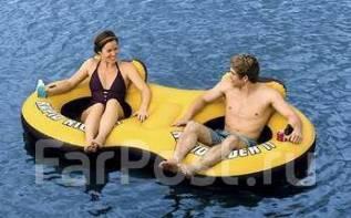 Надувной плот для отдыха на воде для 2 человек