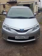 Toyota Estima Hybrid. автомат, 4wd, 2.4 (110л.с.), бензин, 92 000тыс. км